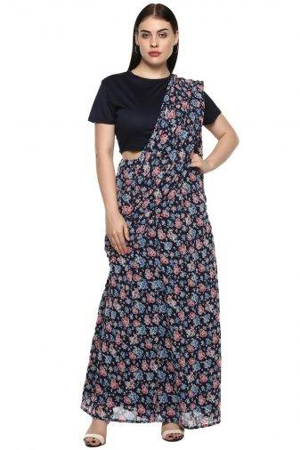 plus_size_blue_floral_palazzo_saree_lastinch_western_clothing_brand_1