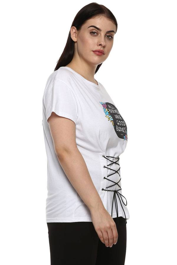 White All Bodies Tshirt