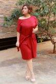 plus_size_maroon_knot_dress_lastinch_western_clothing_brand