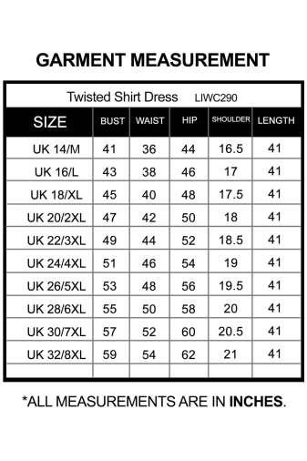 Twisted Shirt Dress_LIWC290