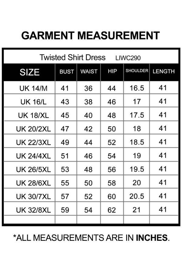 Twisted Shirt Dress_LIWC290