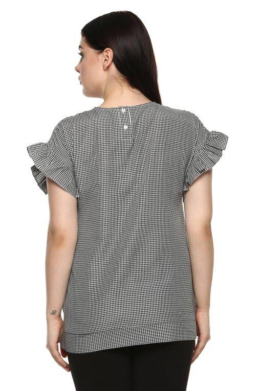 plus_size_gingham_ruffle_sleeve_top_lastinch_western_clothing_brand_5