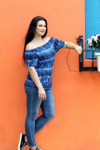 plus_size_blue_off_shoulder_top_lastinch_western_clothing_brand