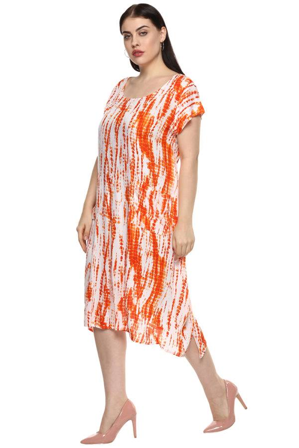 plus_size_white_orange_freestyle_dress_lastinch_western_clothing_brand_1