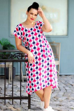 plus_size_pink_freesize_dress_lastinch_western_clothing_brand