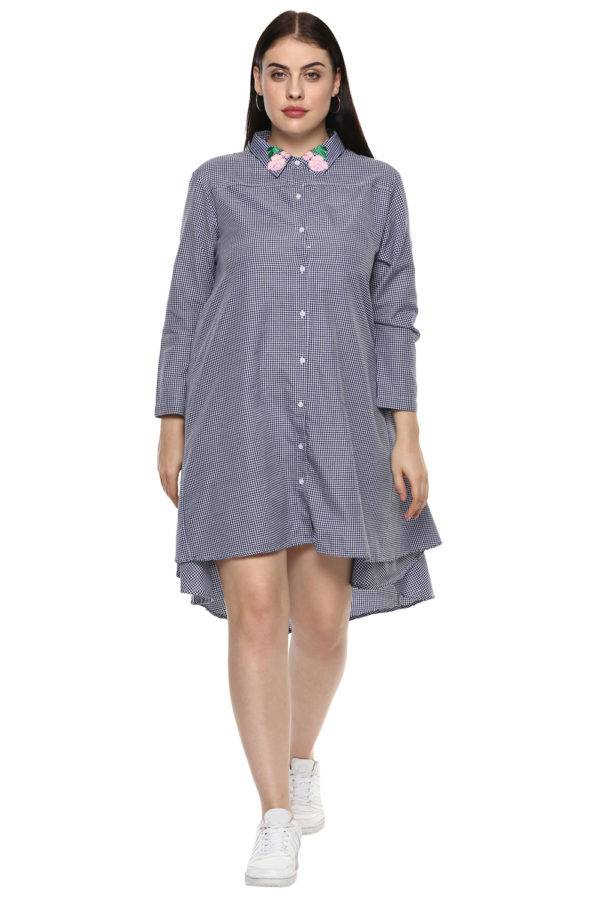 plus_size_checkered_shirt_dress_lastinch_western_clothing_brand_2