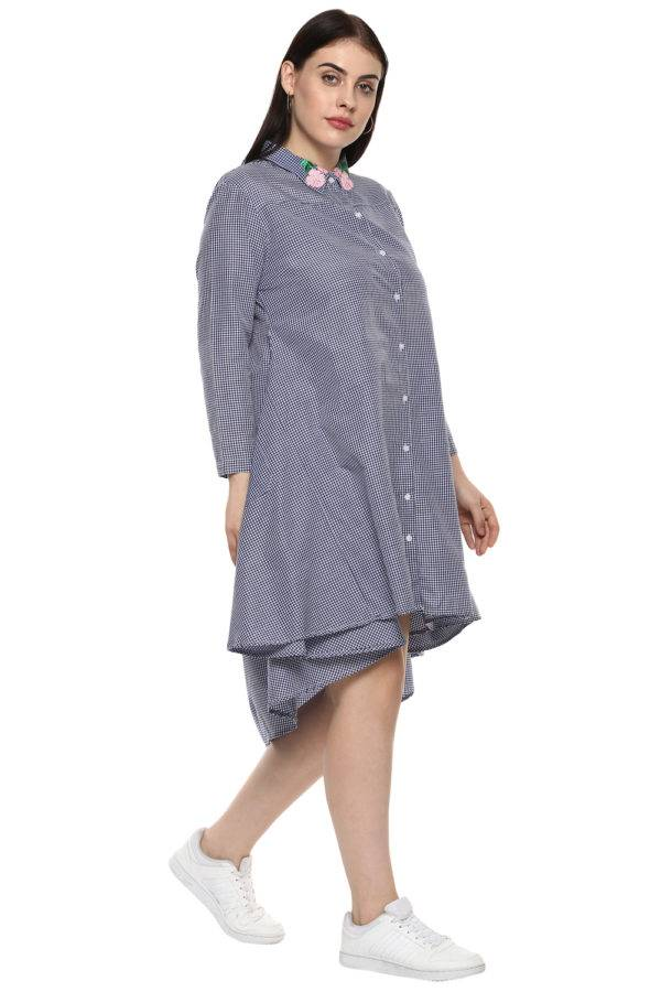 plus_size_checkered_shirt_dress_lastinch_western_clothing_brand_5