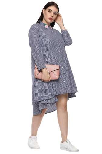 plus_size_checkered_shirt_dress_lastinch_western_clothing_brand_3
