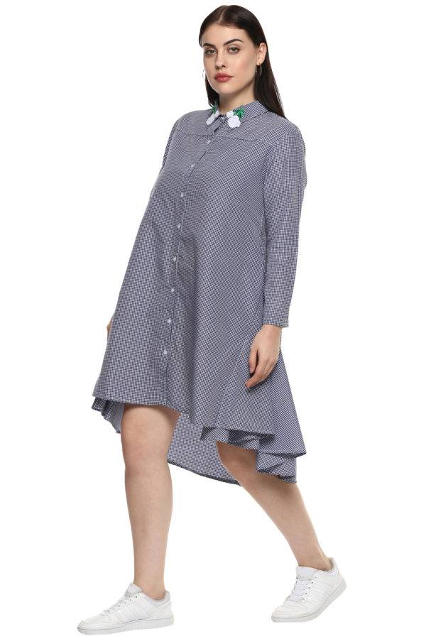 plus_size_patched_checks_shirt_dress_lastinch_western_clothing_brand_5