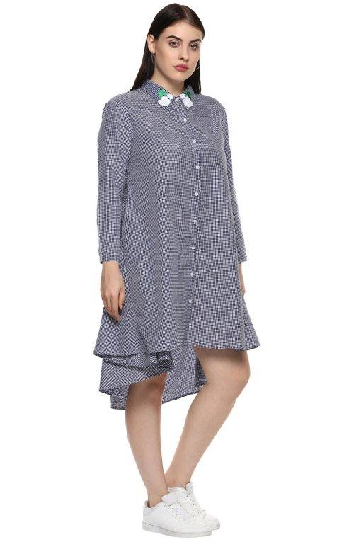 plus_size_patched_checks_shirt_dress_lastinch_western_clothing_brand_4