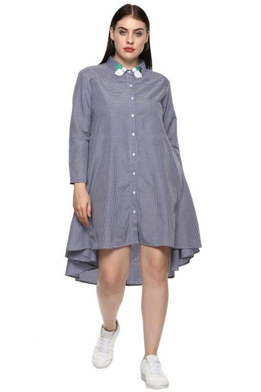 plus_size_patched_checks_shirt_dress_lastinch_western_clothing_brand_1