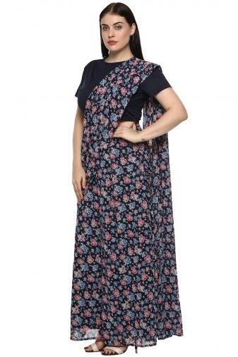 plus_size_blue_floral_palazzo_saree_lastinch_western_clothing_brand_3