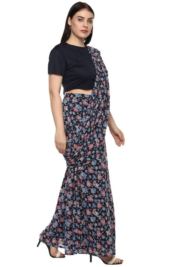 plus_size_blue_floral_palazzo_saree_lastinch_western_clothing_brand_4