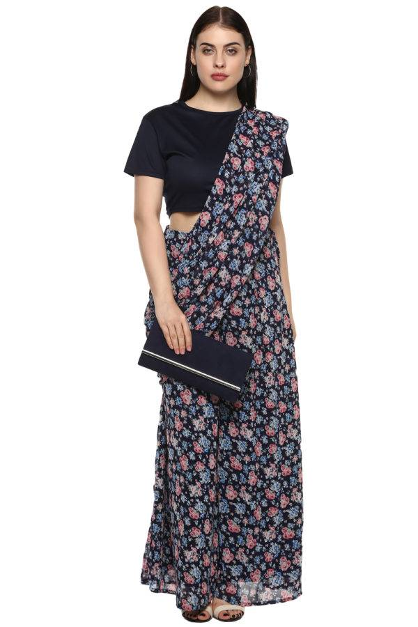 plus_size_blue_floral_palazzo_saree_lastinch_western_clothing_brand_6