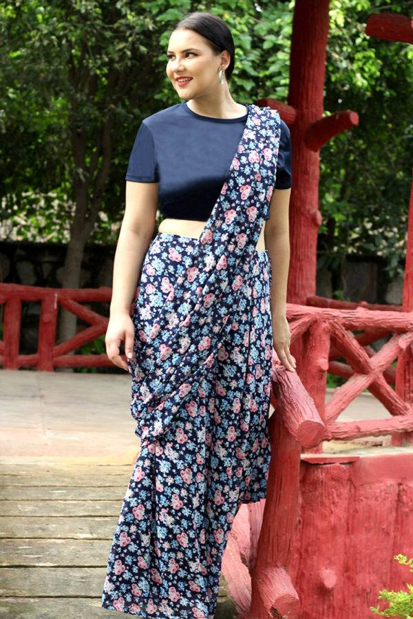 plus_size_palazzo_saree_indo_western_lastinch_western_clothing_brand