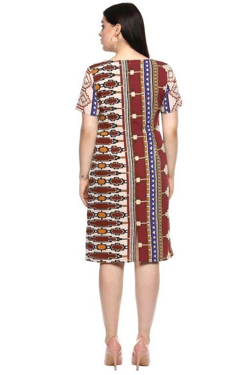 plus_size_geometric_maroon_shift_dress_lastinch_western_clothing_brand_5