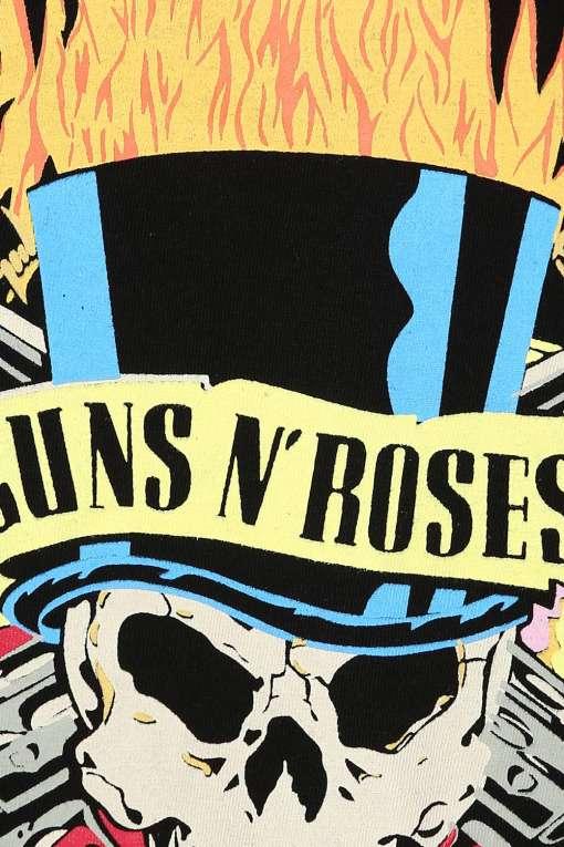 Gun and Roses Tshirt Dress67