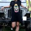 Gun and Roses Tshirt Dress