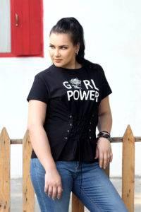 Girl Power Corset Tee
