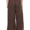 Plus Size LASTINCH Brown Linen Palazzo3