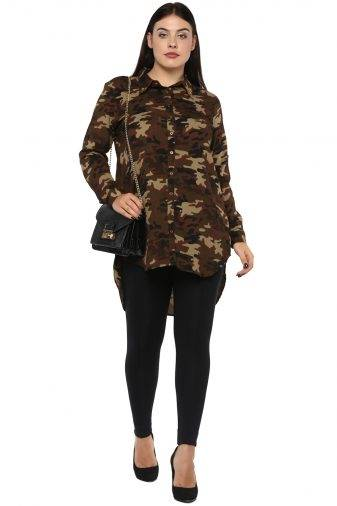 plus Military long shirt-1