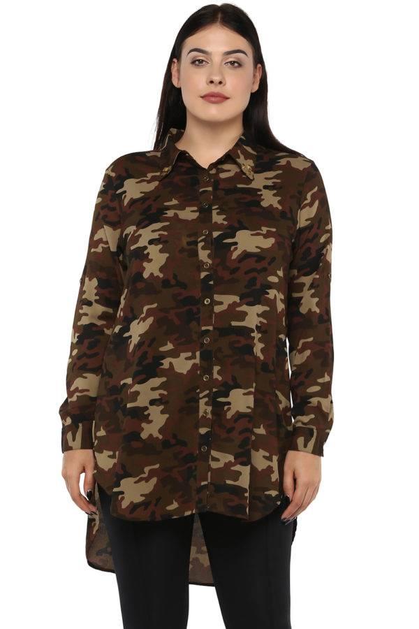 plus Military long shirt-2