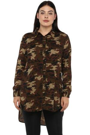 plus Military long shirt-2