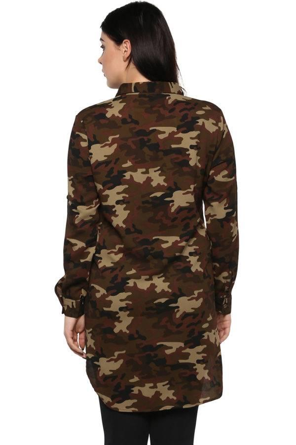 plus Military long shirt-4