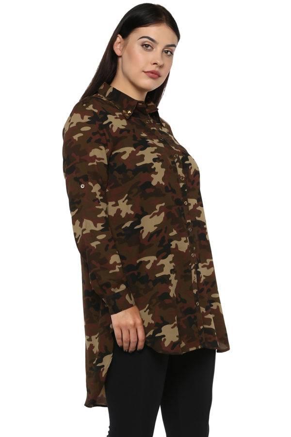 plus Military long shirt-5