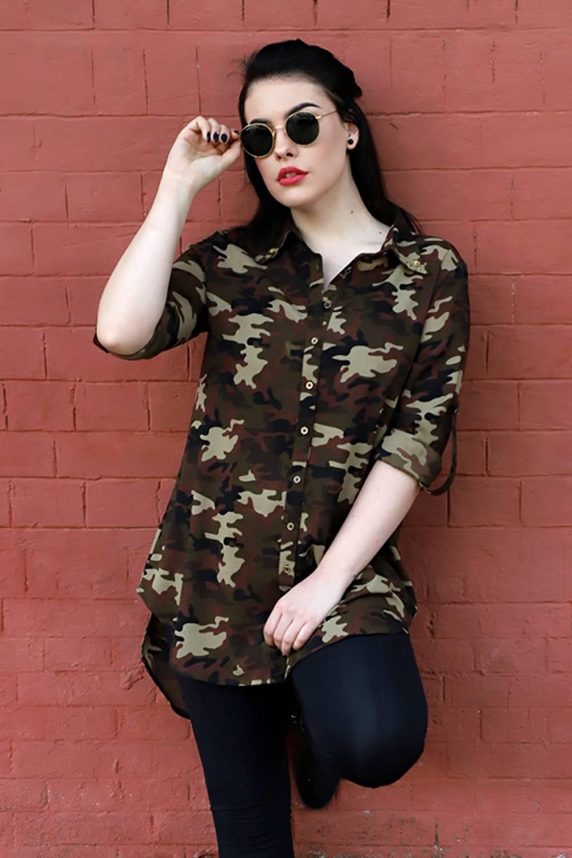 plus Military long shirt