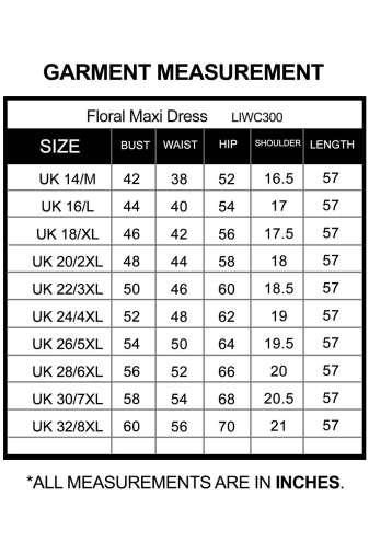Plus Size Floral Maxi Dress-8
