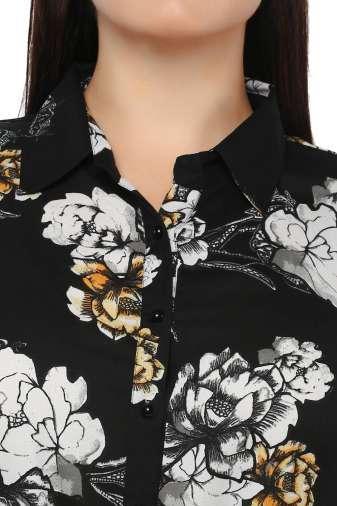 Plus Size Floral Maxi Dress-6
