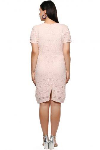 Plus Size Petal Dress-4