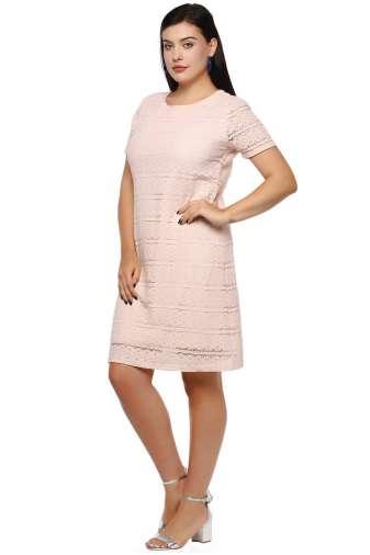 Plus Size Petal Dress-5