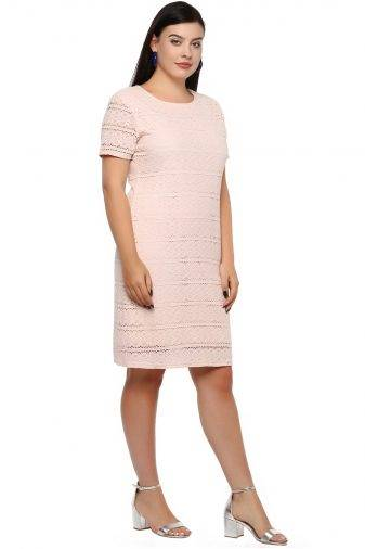 Plus Size Petal Dress--3
