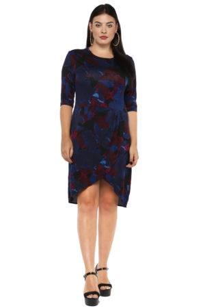 Plus Size Petal Dress-2