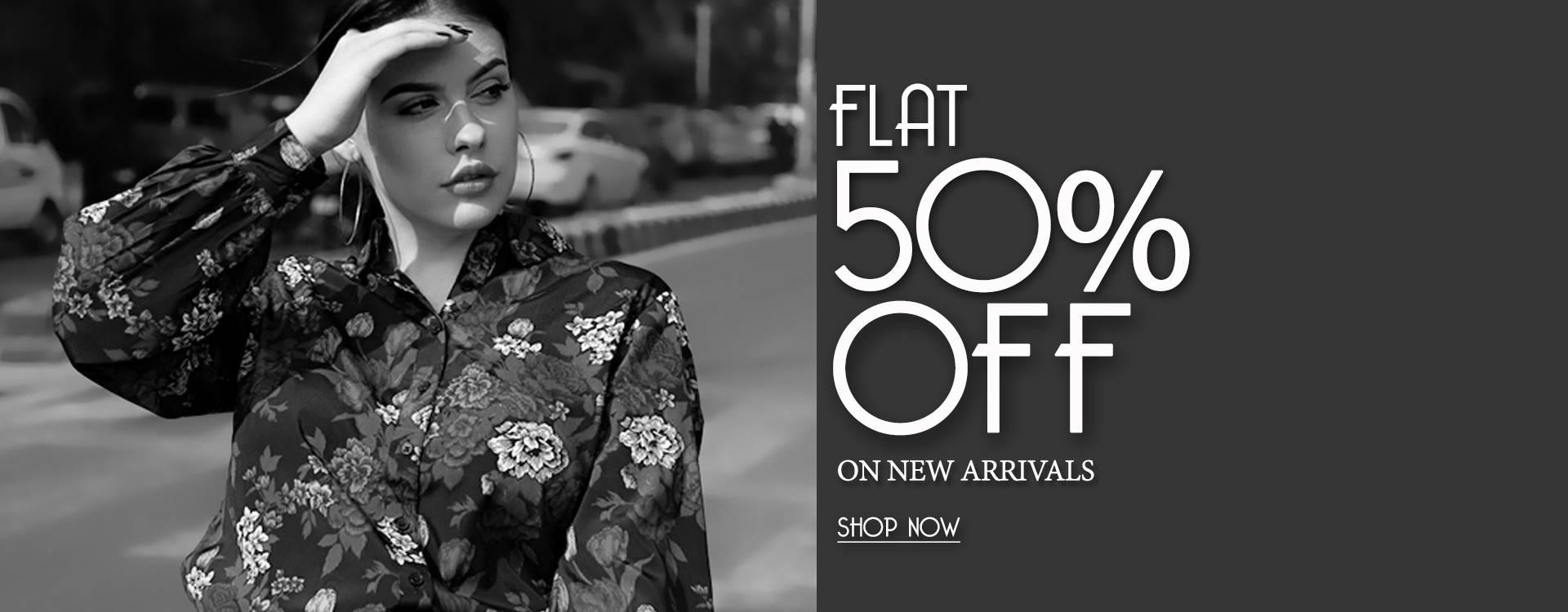 flat50%offonnew