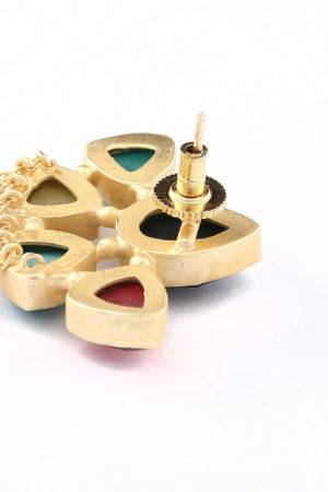 Panchantra Tassle Earrings-3