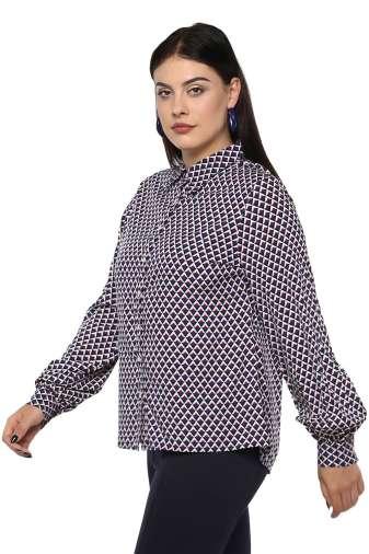 Bubble Sleeve Shirt-3