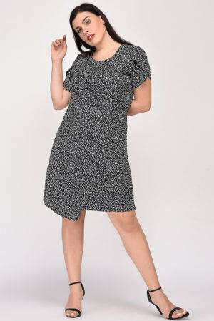 Plus Size Wrap Dress