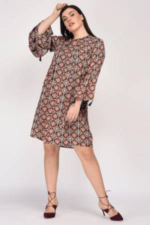 Plus SizeBohemian Layer Dress