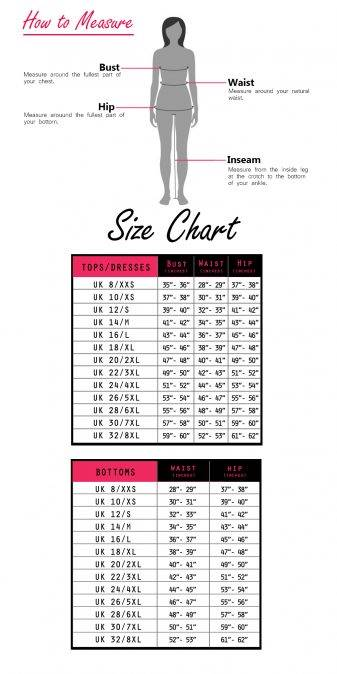 LASTINCH extended size guide