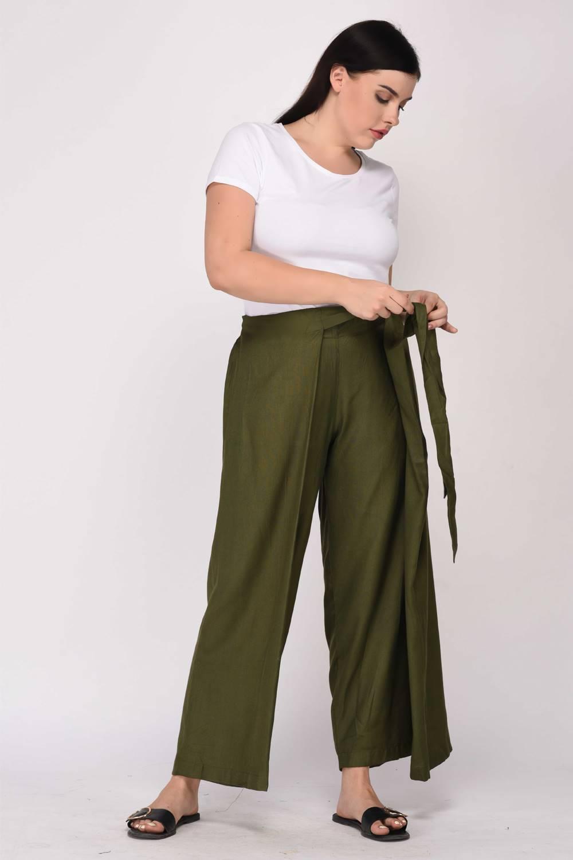 wrap trouser