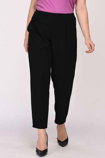 Black Solid Trouser3