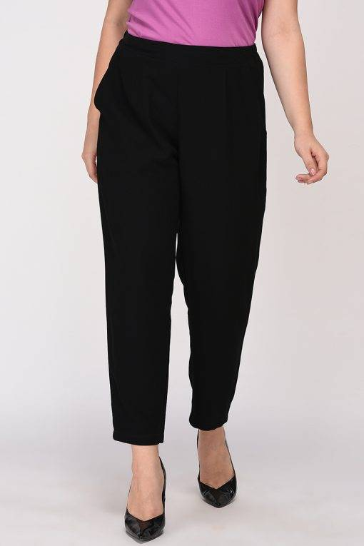 Black Solid Trouser3