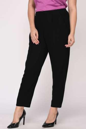 Black Solid Trouser4