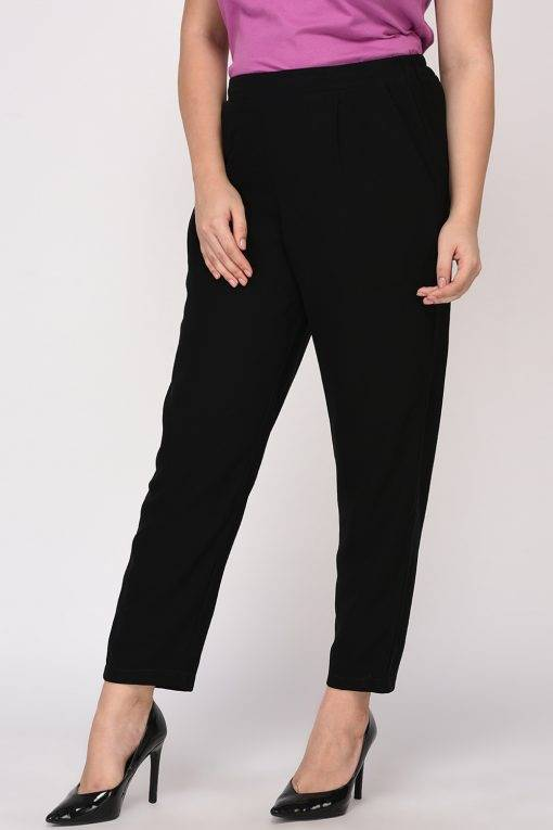 Black Solid Trouser4