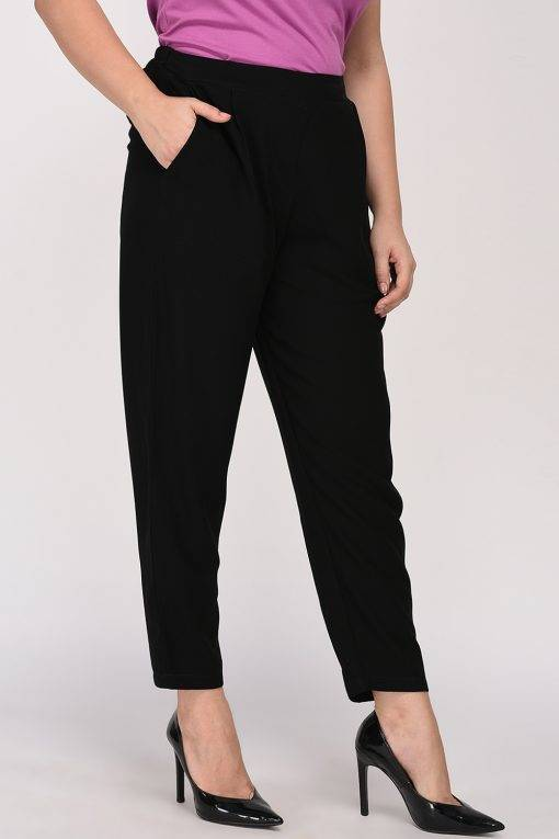 Black Solid Trouser5