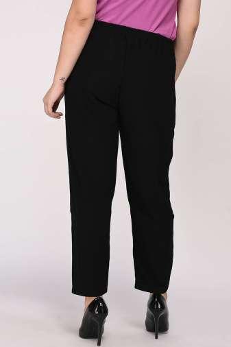 Black Solid Trouser7