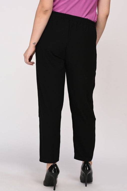 Black Solid Trouser7